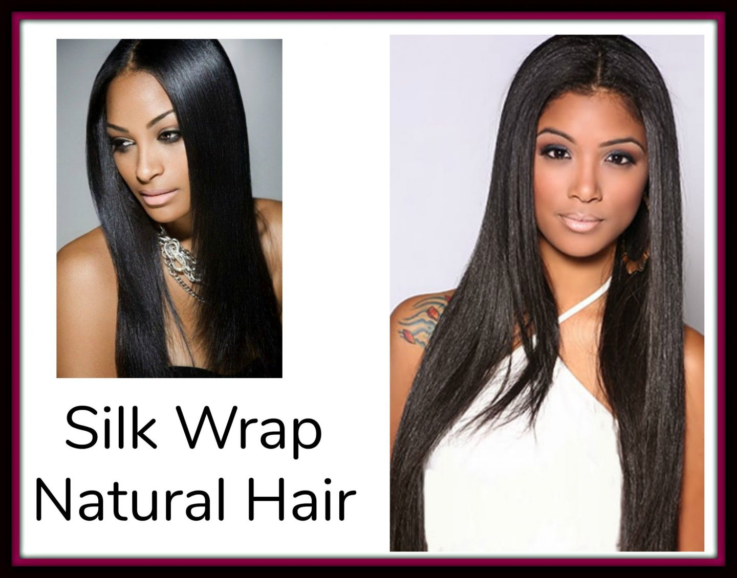 Silk Wrap Natural Hair...what the heck is that & Is It Healthy?