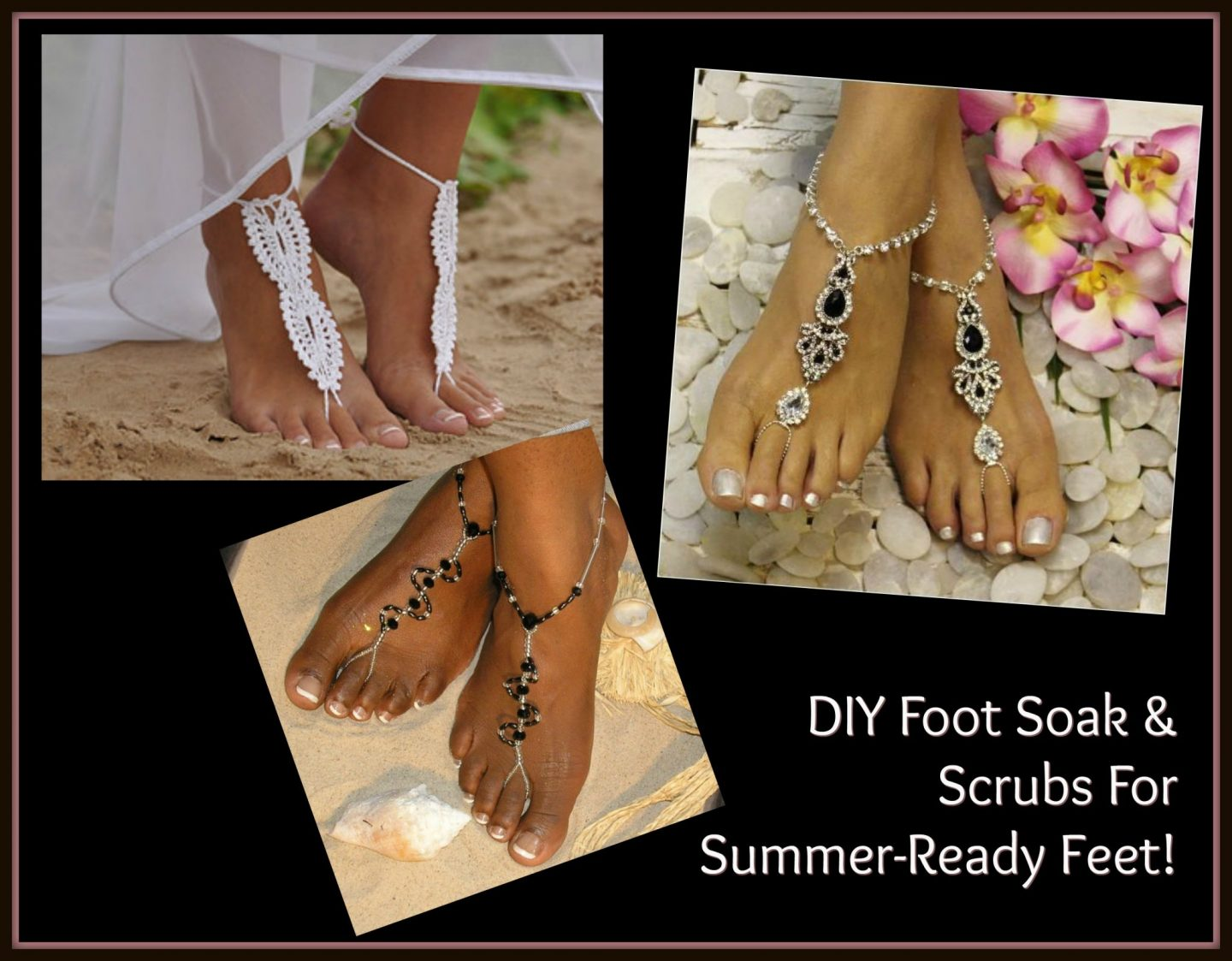 DIY Foot Soak & Scrubs For Summer-Ready Feet!